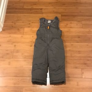 Carter's 3T Velcro Bib snow suit